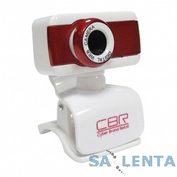 Веб-камера CW-832M Red, универс. крепление, 4 линзы, 1,3 МП, эффекты, микрофон, CW 832M Red