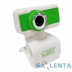 Веб-камера CW-832M Green, универс. крепление, 4 линзы, 1,3 МП, эффекты, микрофон, CW 832M Green