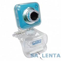Веб-камера CW-834M Blue, универс. крепление, 4 линзы, 1,3 МП, эффекты, микрофон, CW 834M Blue
