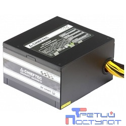 Chieftec 650W RTL [GPS-650A8] {ATX-12V V.2.3 PSU with 12 cm fan, Active PFC, fficiency 80% with power cord 230V only}