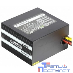 Chieftec 700W RTL [GPS-700A8] {ATX-12V V.2.3 PSU with 12 cm fan, Active PFC, fficiency 80% with power cord 230V only}