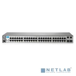 HP J9627A Коммутатор HPE 2620-48-PoE+ управляемый 19U 48x10/100BASE-TX 2x10/100/1000BASE-T