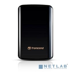 Transcend Portable HDD 1Tb StoreJet TS1TSJ25D3 {USB 3.0, 2.5'', black}