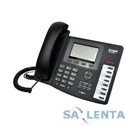 D-Link DPH-400SE/E/F3  IP-телефон с 1 WAN-портом 10/100Base-TX, 1 LAN-портом 10/100Base-TX и поддержкой PoE