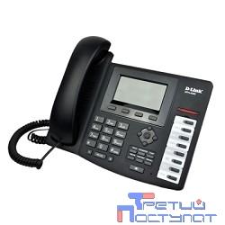 D-Link DPH-400S/E/F3 IP-телефон с большим экраном, 2 портами LAN, поддержкой до трех независимых аккаунтов