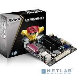 ASRock AD2550B-ITX RTL {D2550, NM10, DDR3, PCI, 6ch Audio, SATAII, LAN, D-Sub, mini-ITX}