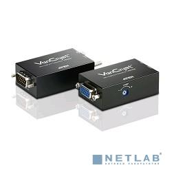 ATEN VE022 Удлинитель, SVGA+AUDIO, 150 метр., HD-DB15+MINI JACK, M+F>F, со шнурами VGA 0.35м/AUDIO 0.4м, Б.П. 220> 5V, (регулятор усиления видеосигнала)