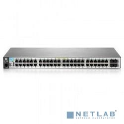 HP J9772A Коммутатор HPE 2530-48G-PoE+ управляемый 19U 48x10/100/1000BASE-T