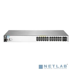 HP J9773A Коммутатор HPE 2530-24G-PoE+ управляемый 19U 24x10/100/1000BASE-T