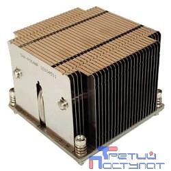 Supermicro SNK-P0048P 2U (2011, радиатор без вентилятора, Cu + Al + тепловые трубки)