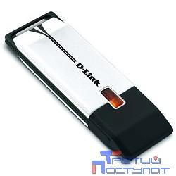 D-Link DWA-160/RU/C1B Беспроводной двухдиапазонный USB-адаптер N300