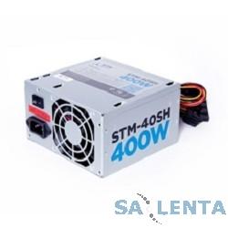 Блоки питания STM-40SH 400W, ATX, 80mm, 2xSATA