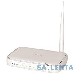 NETGEAR JNR1010-100RUS Беспроводной маршрутизатор 802.11n 150 Мбит/с (1 WAN и 4 LAN порта 10/100 Мбит/с) с вшешней антенной, поддержка IPTV и L2TP