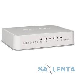 NETGEAR GS205-100PES Коммутатор на 5 портов 10/100/1000 Мбит/с