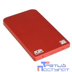 "AgeStar SUB2O1 (RED) Внешний корпус 2,5"" SATA AgeStar SUB2O1 (RED) USB2.0, алюминий, красный (04513)"