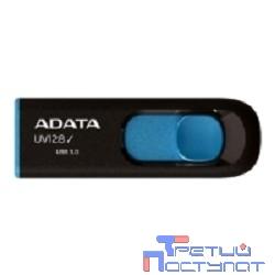 A-DATA Flash Drive 16Gb UV128 AUV128-16G-RBE {USB3.0, Black-Blue}