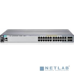 HP J9726A Коммутатор HPE 2920-24G управляемый 24*10/100/1000 + 4*10/100/1000 + 2 разъема для 10G модулей (J9726A)