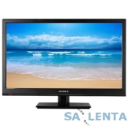 Supra 18.5″ STV-LC19500WL Narrow frame Черный {HD READY, USB, MediaPlayer (RUS)}