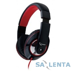 Gembird MHS-902 Гарнитура стерео ,черныйсеребряный