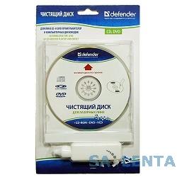 DEFENDER CLN 36903 Чистящий диск CD/DVD (CD + чист.жидк.20мл)