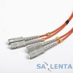 Gembird Cablexpert [CFO-SCSC-OM2-2M] Двунаправленный мультимодовый оптоволоконный кабель, SC/SC, (50/125 OM2), 2 м.