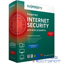 KL1941RBBFS Kaspersky Internet Security Multi-Device Russian Edition. 2-Device 1 year Base Box