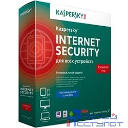 KL1941RBEFS Kaspersky Internet Security Multi-Device Russian Edition. 5-Device 1 year Base Box