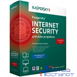 KL1941RBBFR Kaspersky Internet Security Multi-Device Russian Edition. 2-Device 1 year Renewal Box