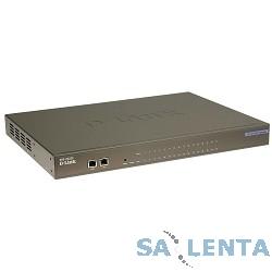 D-Link DVG-2032S/16CO/C1A PROJ Голосовой шлюз с 16 FXS-портами, 1 WAN-портом 10/100Base-TX, 1 LAN-портом 10/100Base-TX и 1 слотом расширения