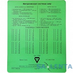 CBR CMP 024 «Arithmetic», Коврик для мыши