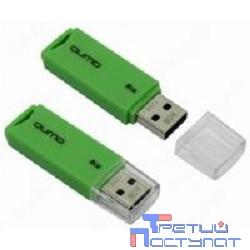 USB 2.0 QUMO 8GB Tropic Green [QM8GUD-TRP-Green]