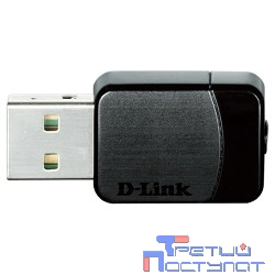 D-Link DWA-171/RU/C1A Беспроводной двухдиапазонный USB-адаптер AC600