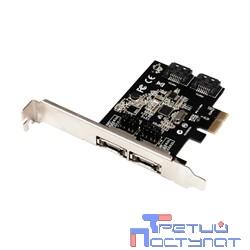 ST-Lab A480 RTL 2x SATA ;2port-ext,  2port-in; PCI-Express 1x