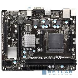 ASRock 960GM-VGS3 FX OEM {AM3+, AMD760G, DDR3, PCI-E, GBL, SATAII, D-Sub, mATX}