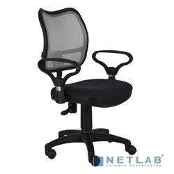 Бюрократ Ch-599AXSN/TW-11 Кресло (спинка черная сетка, сиденье черный TW-11)