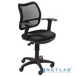 Бюрократ Ch-797AXSN  Кресло (спинка черная сетка, сиденье черное 26-28 Т-образные подлокотники)