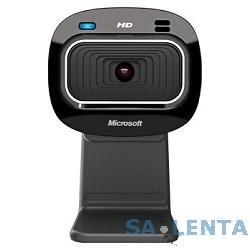 Microsoft LifeCam HD-3000, USB 2.0, 1280*720, автофокус, Mic, Black T3H-00013