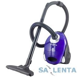 Пылесосы SUPRA VCS-1530 violet, 1500 Вт, матерчатый пылесборник