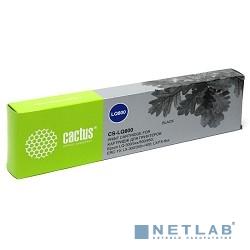 CACTUS LQ800 Картридж матричный CACTUS (CS-LQ800) для Epson LQ-300/5xx/800/850; ERC-19; LX-300/300+/400; LX/FX-8xx, ресурс 3 000 000 зн,black