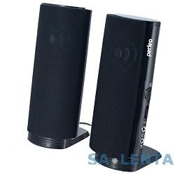 Perfeo PF-028 чёрный {Колонки 2.0, мощность 2х2,5 Вт (RMS), USB}