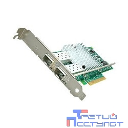 E10G42BTDA/BFSRBLK (980139/927249/927247 ) Плата сетевого контроллера INTEL X520-DA2 oem (Ethernet,1GbE/10GbE, 2 ports)