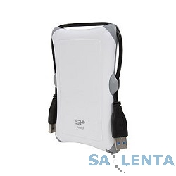 Silicon Power Portable HDD 1Tb Armor A30 SP010TBPHDA30S3W {USB3.0, 2.5″, Shockproof, white}