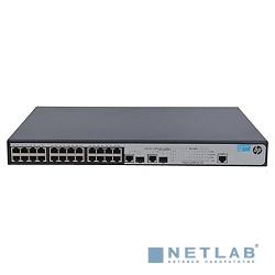 HP JG539A Коммутатор HPE 1910-24-PoE+ управляемый 19U 24x10/100BASE-TX 2x10/100/1000BASE-T 2x10/100/1000BASE-T/Mini GBIC (SFP)