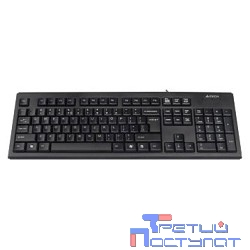 Keyboard  A4tech KR-83 black USB, проводная USB, 104 клавиши [533406]