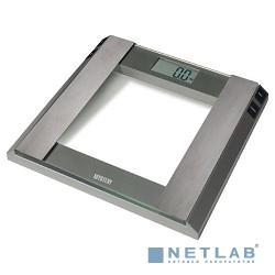Весы напольные Mystery MES-1805, стекло, 180 кг, металлик