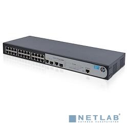 HP JG538A Коммутатор HPE 1910-24 управляемый 19U 24x10/100BASE-TX 2x10/100/1000BASE-T 2x10/100/1000BASE-T/Mini GBIC (SFP