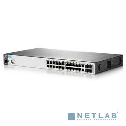HP J9779A Коммутатор HPE 2530-24-PoE+ управляемый 19U 24x10/100BASE-TX 2x10/100/1000BASE-T