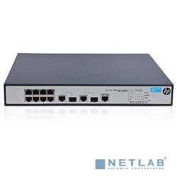 HP JG537A Коммутатор HPE 1910-8 -PoE+ управляемый 19U 8x10/100BASE-TX 2x10/100/1000BASE-T 2x10/100/1000BASE-T/Mini GBIC (SFP)