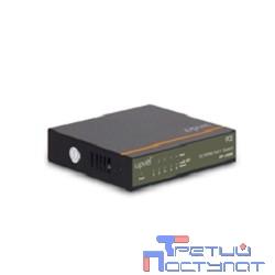 UPVEL UP-215FE  Компактный 5-портовый PoE+ коммутатор с четырьмя PoE+ портами до 30Вт на порт (металлический корпус, внешний блок питания, Maximum PoE Output Power: 70W)