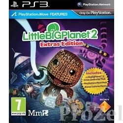 Диск для приставки PS3: LittleBigPlanet 2 Расширенное издание (с поддержкой PS Move, русская версия)